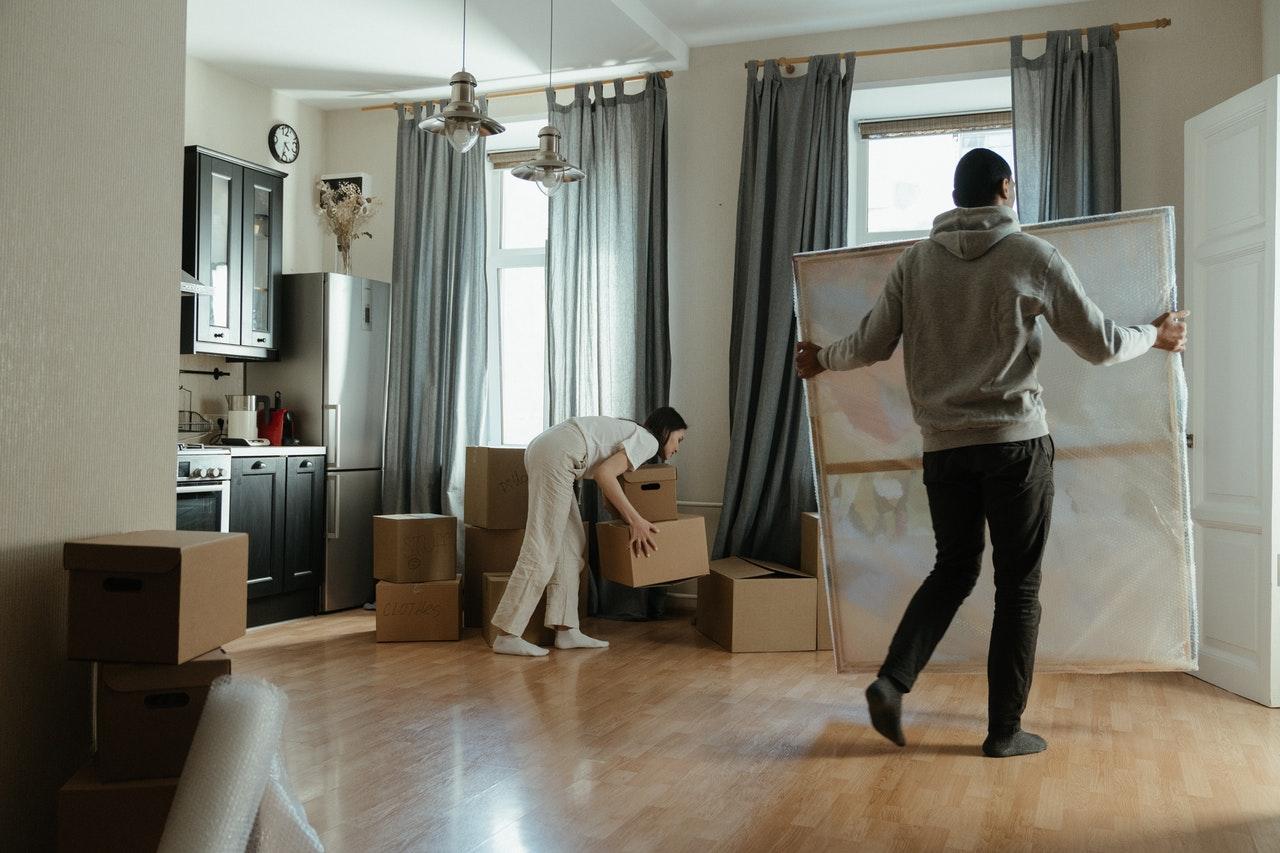 pintar casa antes de mudarse